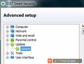 update nod32 eset smart security 55 آموزش به روز رسانی آفلاین NOD32 و Smart Security نسخه 3 و 4 و 5 و 6 و 7