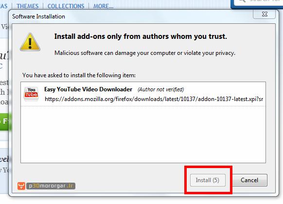 90345596985808586681 آموزش اضافه کردن و غیر فعال کردن افزونهها به فایرفاکس