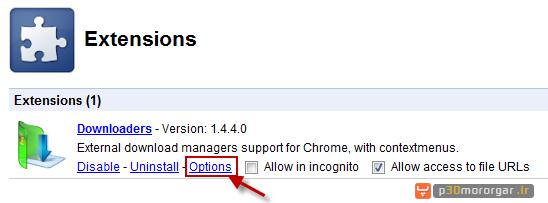 downloaders chrome ext 2 آموزش حل مشکل IDM و دیگر دانلود منجرها در مرورگر گوگل کروم