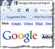 04 chrome incognito mode indicator thumb نحوه فعال نمودن حالت مرور خصوصی صفحات در 4 مرورگر وب معروف