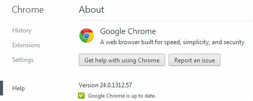 Chrome is up to date حل مشکل آپدیت نشدن گوگل کروم
