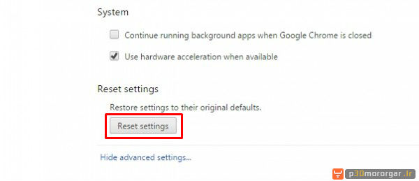 reset_Settings_chrome