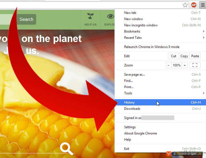 Clear-Most–Visited-Websites-on-Google-Chrome-Step-1