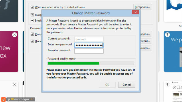 Firefox-Master-Password