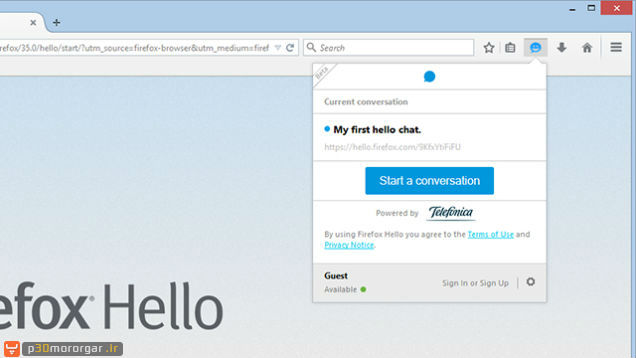 Firefox-instant-video-chat