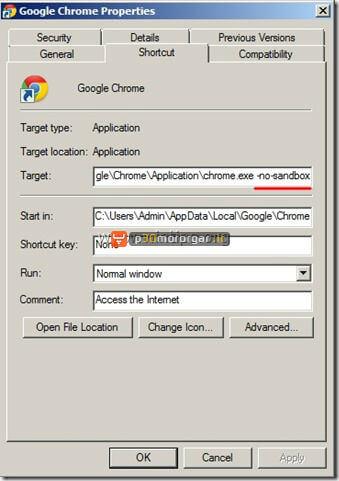 step6-fix-google-chrome-blank-page-problem