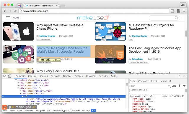 browser-chrome-webdev