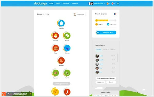 chrome-Duolingo-on-the-Web
