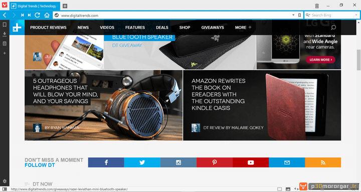 browsers comparison-vivaldi